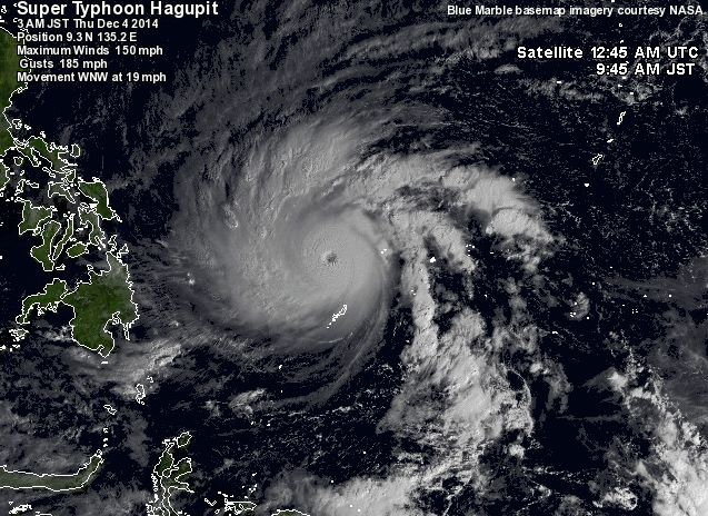 Super-Typhoon-Hagupit - Philippine news images - Philippine Photo Gallery