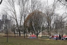 tent city detroit